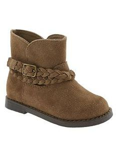 Suede boots from gap kids!! Also had to add these to her shoe collection!!