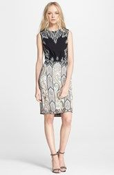 Etro Sleeveless Paisley Cady Dress