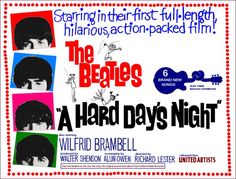 the beatles a hard days night movie | ... in 1964 the beatles first film a hard day s night premiered in london