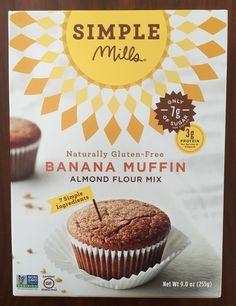 Gluten Free in Orlando: Simple Mills Banana Muffin Mix