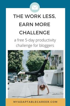 Work Less, Earn More Challenge Productivity Challenge, Productivity Hacks, Business Tips, Online Business, Feeling Burnt Out, Thing 1, Business Organization, Time Management Tips, Online Entrepreneur