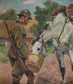 Wojciech Kossak Military Art, Military History, Horse Oil Painting, Biology Art, Art Themes, Equine Art, Art Inspo, Art History, Art Drawings
