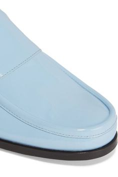 Pierre Hardy - Hardy Patent-leather Loafers - Light blue - FR36