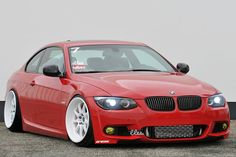 BMW E92 great stance low profile it works  http://extreme-modified.com/