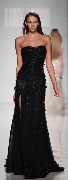 #Tony Ward's beautiful black dress