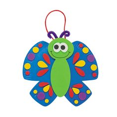 Paper Plate Butterfly Craft Kit