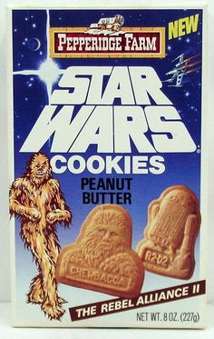 Star Wars Cookies--Looks like the Force has cookies! Wookie Cookies, Farm Cookies, Cookies Et Biscuits, Star Wars Cookies, All Jedi, Star Wars Merchandise, The Phantom Menace, Rebel Alliance, Star War 3