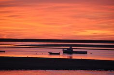 Chatham sunrise #travel #massachusetts Credit: Brian Morris