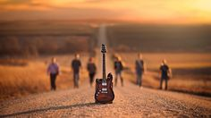 Guitar 1366x768 wallpaper