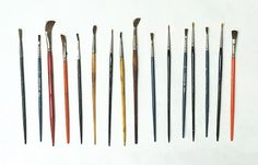 vintage paint brushes from A Collection A Day