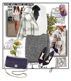 """#197"" by uptodatefashion-julia ❤ liked on Polyvore featuring Christian Dior, Polo Ralph Lauren, Tory Burch and Sara Designs"