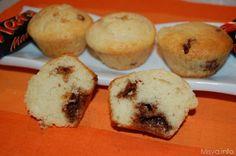Muffin al mars, scopri la ricetta: http://www.misya.info/2012/11/10/muffin-al-mars.htm