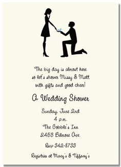 Engagement Party at Home | ... Picks for Bridal Shower Invitations and Engagement Party Invitations