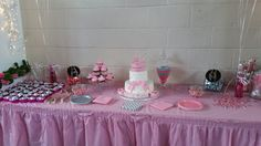 Sweet Treat Table
