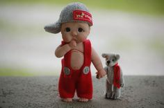 Ooak Polymer Clay Full Sculpt Baby Kevin BY Tatyana |