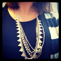 stripes and sutton for a monday. #stelladotstyle  www.stelladot.com/katherinefrontino