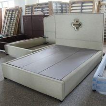 Suave cabecero de cama cama de tejido de muebles europeos estilo para marco de la cama doble(China (Mainland))