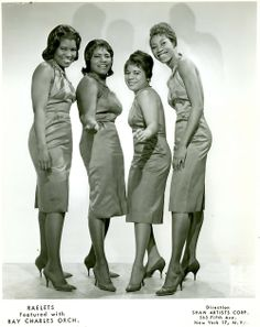 The Raelettes — Pat Lyles, Margie Hendricks, Gwen Berry, and Darlene McCrea