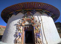 Gyantse Palkhor Tsode Temple 2 by Suppi-lu-liuma (fosca Maraini - Segreto TIbet)