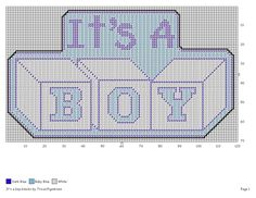 BLOCKS - BABY BOY Plastic Canvas Christmas, Plastic Canvas Crafts, Plastic Canvas Patterns, Cross Stitch Needles, Cross Stitch Baby, Needlepoint Patterns, Cross Stitch Patterns, New Baby Crafts, Baby Canvas