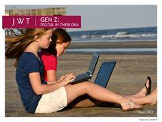 f-external-genz041812-12653599 by JWTIntelligence via Slideshare #générationZ #generationZ #genZ