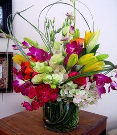 Bright Colors! Flowers - {Maxit Flower Design} www.maxitflowerdesign.com