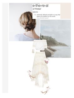 """""""""""The answer is dreams. Dreaming on and on. Entering the world of dreams and never coming out. Living in dreams for the rest of time."""" - Haruki Murakami"""" by are-you-with-me ❤ liked on Polyvore featuring Alexis, Ippolita, H&M and MAC Cosmetics"""