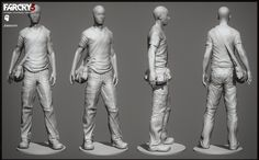 Hi my name is James Ku, I'm one of the character leads at Blur Studio. Recently Paul and Jaime from Pixologic stopped by Blur and gave a presentation to show us some cool new ways to work in Zbrush. Zbrush Character, 3d Character, Character Concept, Character Design, Character Turnaround, Comic Layout, Modelos 3d, Art Poses, Human Figures