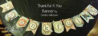 Thankful banner - nice
