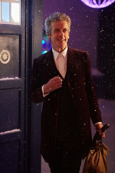 A dapper looking Doctor from the upcoming Doctor Who Christmas special, 'The Husbands of River Song'!