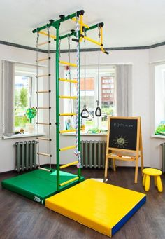 lofty ideas indoor jungle gym. Great gift idea Playground Set for Kids For the Floor and Ceiling  Indoor Gym Training Sport with Accessories Equipment Trapeze Bar Swing Amazon com Wall Mounted