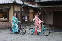 振袖でも乗れる着物用自転車「KOTO LX 20」がマジで発売 【東京ナイロンガールズ】