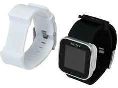 Sony SmartWatch Black Bluetooth Android / iOS Watch