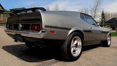1971 Ford Mustang Mach 1 Fastback HP, Automatic presented as lot at Seattle, WA 2015 - 1972 Mustang Mach 1, Mustang Fastback, Shelby Gt500, Mustang Cars, 70s Muscle Cars, Forged Pistons, Chevrolet Malibu, Collector Cars, Dream Cars