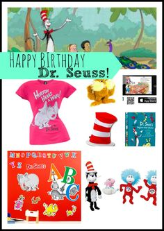 Dr. Seuss --> fun seuss ideas from @Whitney Wingerd - Mommies with Style