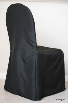 Ruffled® | See ads - Black Chair Covers and napkins - Reception