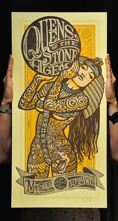 Lars P. Krause: Queens of the Stone Age poster