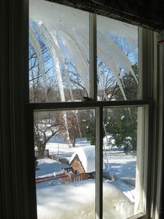 Part of snow preparedness is having the right tools. Consider adding a roof rake to help combat snow build-up and ice dams. Ice Dams, Snow, Windows, Building, Home, House, Buildings, Homes, Construction