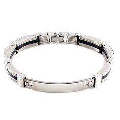 Yantu Mens Stainless Steel Bracelet Chain Irregular Link Wrist Band Wristband Jewellery for Men YANTU http://www.amazon.com/dp/B00U8BCW8Y/ref=cm_sw_r_pi_dp_fAWovb19XY3BB