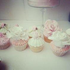 Swt creation. Vintage cupcakes