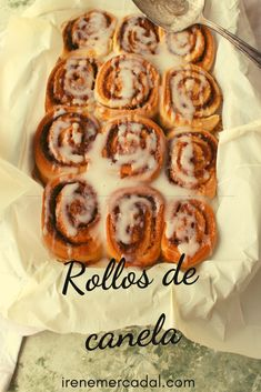 Cinammon Rolls, Waffles, French Toast, Bakery, Food And Drink, Recipies, Bread, Snacks, Dinner