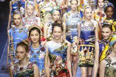 Dolce & Gabbana Ready To Wear Spring Summer 2016 Milan - NOWFASHION