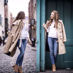www.stylegamblers.com#fashion#blogger#streetstyle#trenchcoat#denim