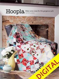 Hoopla Digital Pattern from ShopFonsandPorter.com