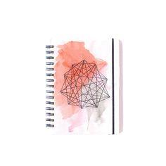 Cuaderno de diseño Amatista- Ilustración hecha a mano