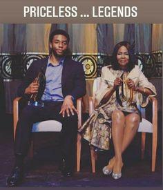 Black Actors, Black Celebrities, Celebs, Black Love, Black Is Beautiful, Indiana, Black Panther Chadwick Boseman, Black King And Queen, Heaven's Gate