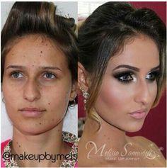 before after contour makeup great highlights contour