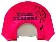 Tom Teasers Custom Calls Big Mama Boss Hen Diaphragm Turkey Call - Pink/White