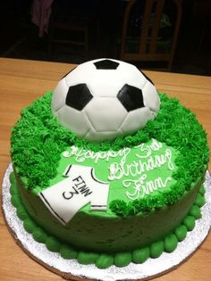 How To Decorate A Soccer Ball Cake Soccer Ball Cake  My Cakes  Pinterest  Soccer Ball Cake
