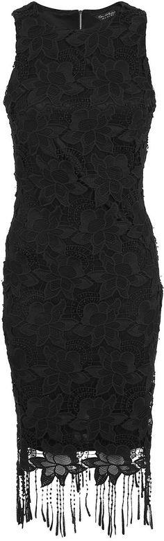 Womens black dress from Miss Selfridge - £75 at ClothingByColour.com